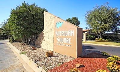 Community Signage, Sheridan Square, 0