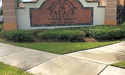 THE PALACE AT HOMESTEAD, 1