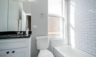 Bathroom, 2400 S Troy St 2R, 2