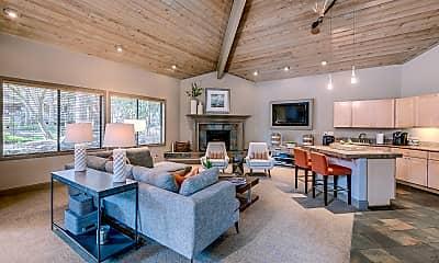 Living Room, Park in Bellevue, 1