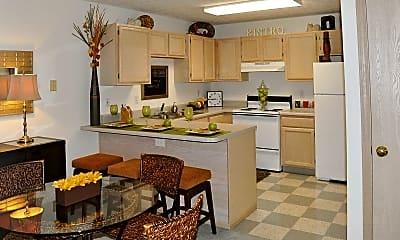 Kitchen, Village Gate Apartments, 0