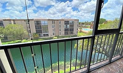 Patio / Deck, 8895 Fontainebleau Blvd 402, 0