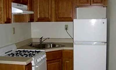 Kitchen, 55 Monroe Place, 1