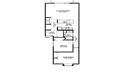 Bedroom, 7025 56th St, 2