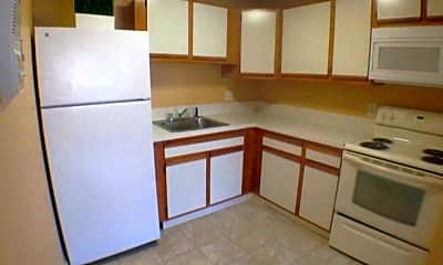 Kitchen, Newman Apartments, 1
