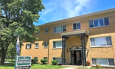 Building, 3671 N Pennsylvania St, 2