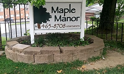 Maple Manor, 1