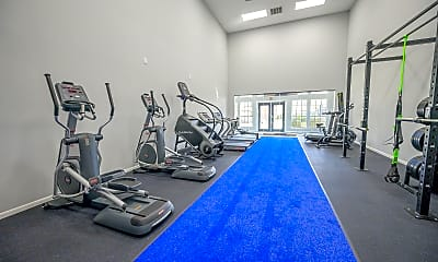 Fitness Weight Room, Laurel Heights at Cityview, 2