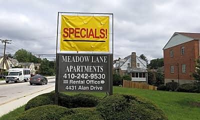 Meadow Lane Apartments, 1