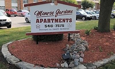 Monroe Garden Apartments, 1
