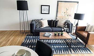 Living Room, 8 Street Apartments, 1