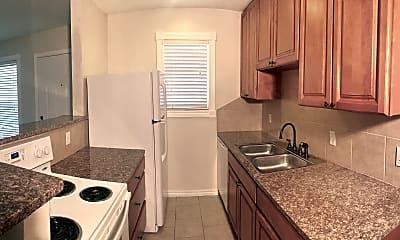 Kitchen, Plaza West, 1