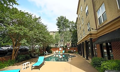 Pool, 730 Walker Square, 2