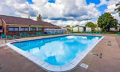 Pool, East Village Estates, 1