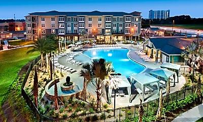 Pool, Citi Lakes Apartments, 1