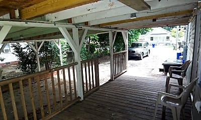 Patio / Deck, 205 E 13th St A, 2