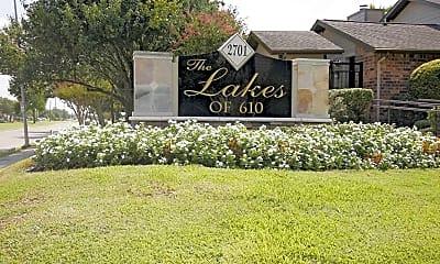 Community Signage, Lakes of 610, 2