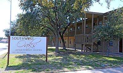 Community Signage, Southwest Oaks Apartments, 2