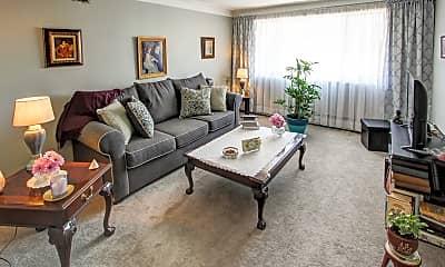 Living Room, Belvedere Manor, 1