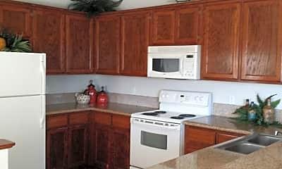 Kitchen, Granville Luxury Apartments, 1