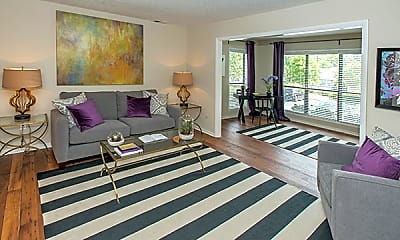 Living Room, The Park at Peachtree Corners, 1