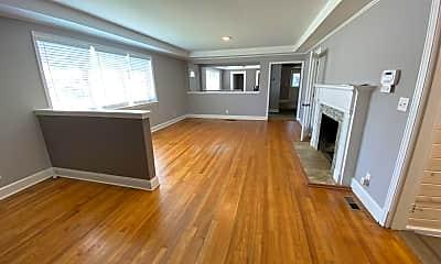 Living Room, 4115 North Terrace, 1