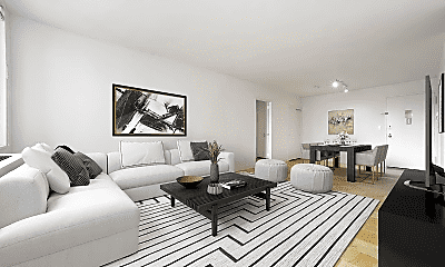 Living Room, 301 E 75th St, 0