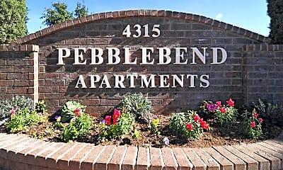 Community Signage, Pebblebend Apartments, 2