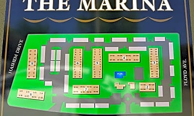 Community Signage, The Marina, 2