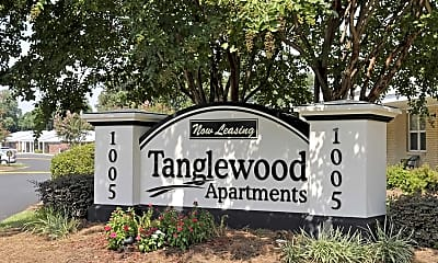 Community Signage, Tanglewood Apartment Homes, 0