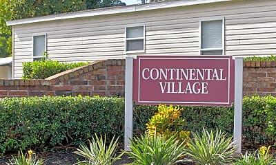 Community Signage, Continental Village, 2