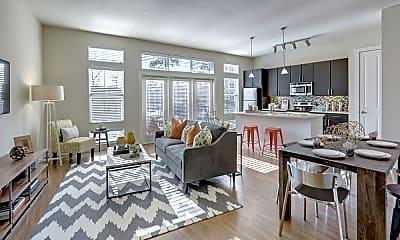 Living Room, 2204 W Park, 0