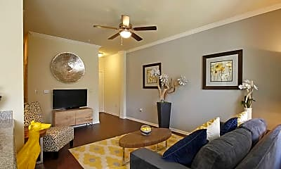 Living Room, Oaks At Northpointe, 1