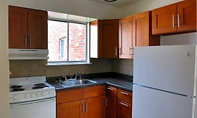 Kitchen, The Osborne Apartments, 0