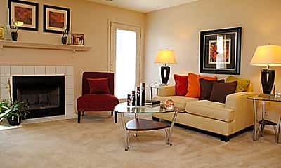 Living Room, Oak Pointe Apartments, 0