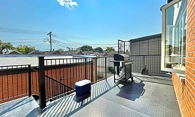 Patio / Deck, 2933 S Wallace St 2F, 2