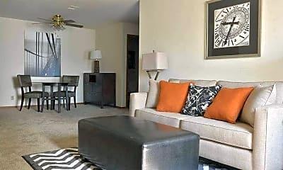 Living Room, Autumn Glen Apartments, 1