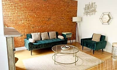 Living Room, 454 W 47th St, 1