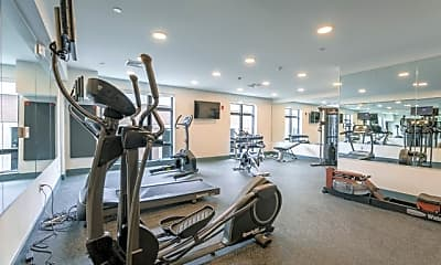 Fitness Weight Room, Holmes Beverly, 2