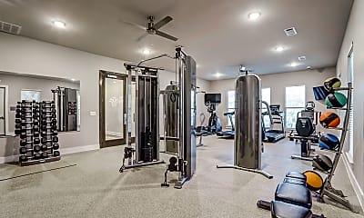 Fitness Weight Room, Prairie Gate Community, 2