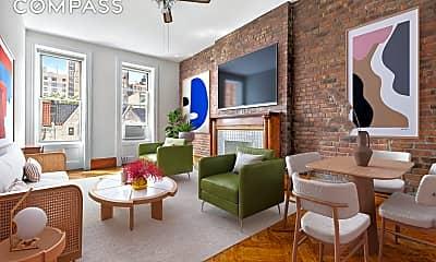 Living Room, 331 W 88th St 8, 0
