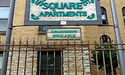 Stonehouse Square Apartments, 1
