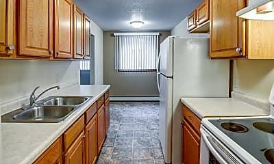 Kitchen, Burnsville Pointe Apartments, 0