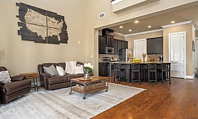 Living Room, 6011 Kansas St A, 1