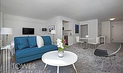 Living Room, 420 E 64th St W10K, 1