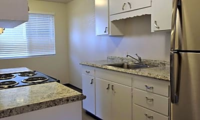 Kitchen, Westbrook Apartments, 0