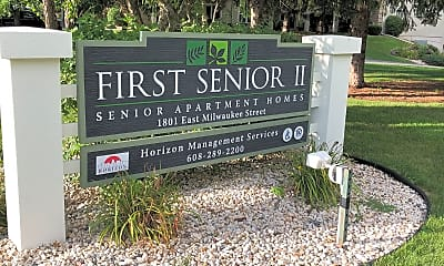 First Senior I & II Apartments, 1