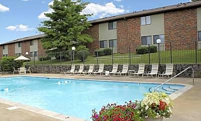 Pool, Colony Manor, 0