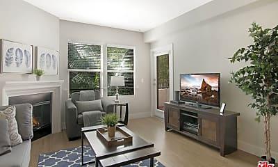 Living Room, 1060 Glendon Ave 4142, 1