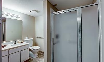 Bathroom, Hill Villa Senior Living, 2